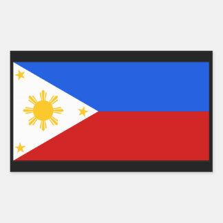 Philippines Rectangular Sticker