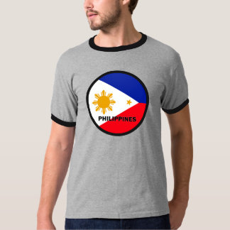 Philippines Roundel quality Flag T-Shirt