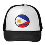 Philippines Roundel quality Flag Trucker Hat