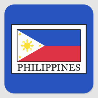 Philippines Square Sticker
