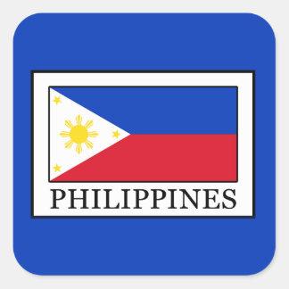 Philippines Square Sticker