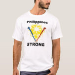 """Philippines Strong """"Support the Philippines"""" T-Shirt"""