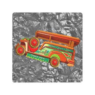 Philippines' Vintage Jeepney Metal Print