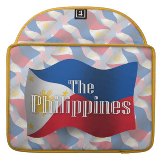 Philippines Waving Flag Sleeves For MacBooks
