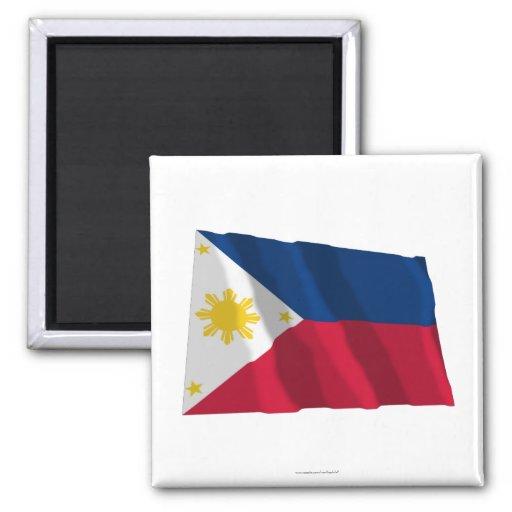 Philippines Waving Flag Magnet