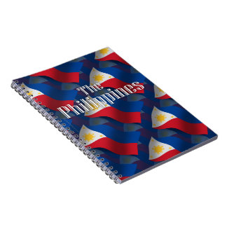 Philippines Waving Flag Note Books