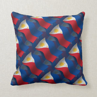 Philippines Waving Flag Pillow