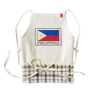 Philippines Zazzle HEART Apron