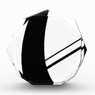 philip's cross - abstracted acrylic award
