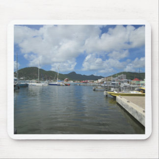 Philipsburg Harbor Gorgeous Day Mouse Pad