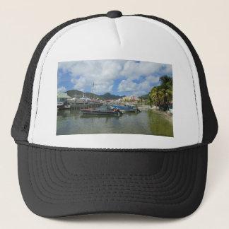 Philipsburg Harbor St. Maarten Trucker Hat