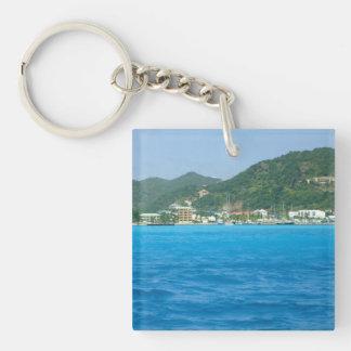 Philipsburg Shoreline Acrylic Key Chain