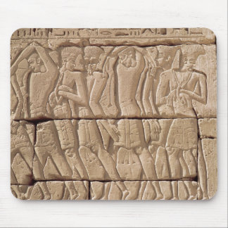 Philistine prisoners being led away mouse pad