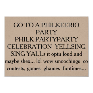 PHILK HAVE A PHILKING GREAT Excellent time Card