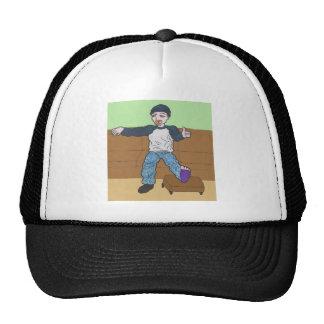 Phill anime art gallery character trucker hat
