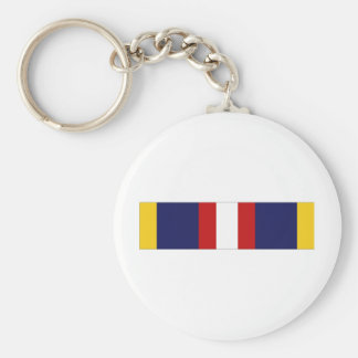 Phillipine Independence Ribbon Basic Round Button Keychain
