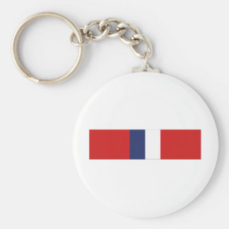Phillipine Liberation Ribbon Basic Round Button Keychain
