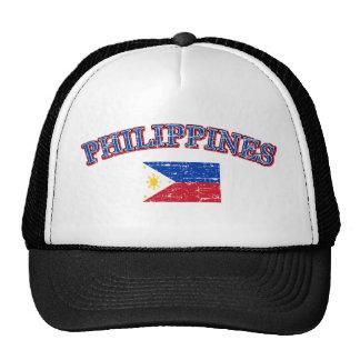 Phillipines football design trucker hat