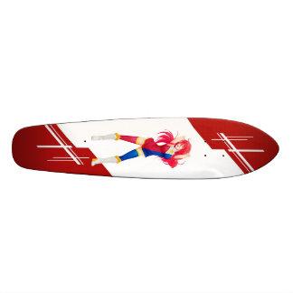 Phillipines Manga girl dressed in Flag - Phillipin Skateboard Deck