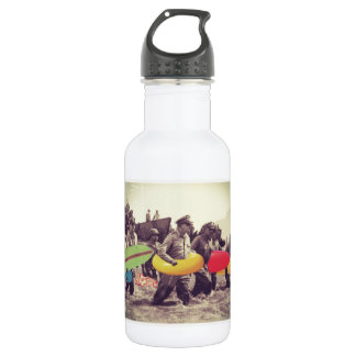 Phillipines Surf Party Water Bottle
