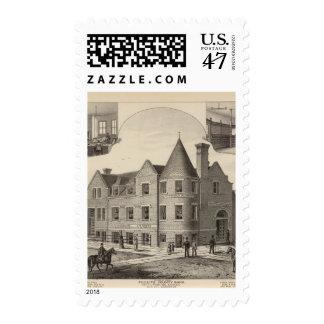 Phillips County Bank, Phillipsburg, Kansas Postage Stamp