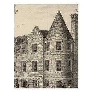 Phillips County Bank, Phillipsburg, Kansas Postcard