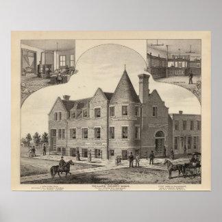 Phillips County Bank, Phillipsburg, Kansas Poster