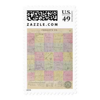 Phillips County, Kansas Postage