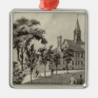 Phillips Exeter Academy Metal Ornament