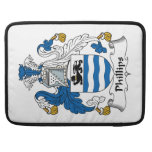 Phillips Family Crest Sleeve For MacBook Pro