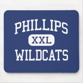 Phillips - gatos monteses - alto - Chicago Illinoi Alfombrilla De Ratón