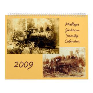 Phillips Jackson calendar 2009