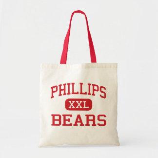 Phillips - osos - alto - cala Alabama del oso Bolsa Tela Barata