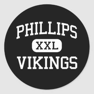 Phillips - Vikings - Junior - New Orleans Classic Round Sticker