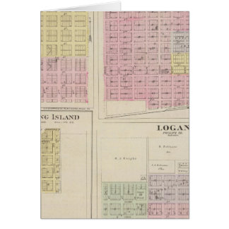 Phillipsburg, Marvin, Long Island, Logan, Kansas Card