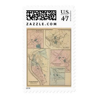 Phillipsburg, NJ Postage Stamp