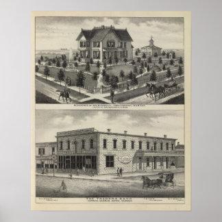 Phillipsburg Traders Bank, Kansas Poster