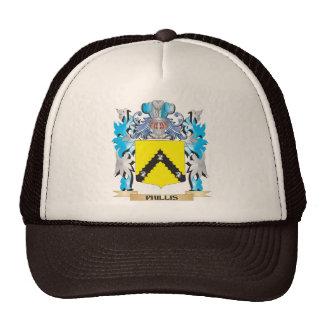 Phillis Coat of Arms - Family Crest Mesh Hat
