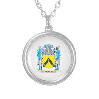 Phillis Coat of Arms - Family Crest Custom Necklace