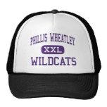Phillis Wheatley - gatos monteses - alto - Houston Gorras De Camionero