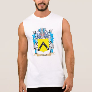 Phillp Coat of Arms - Family Crest Sleeveless Tees