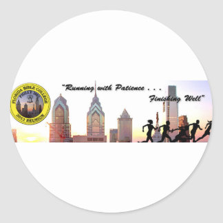 Philly 2012 Reunion Classic Round Sticker