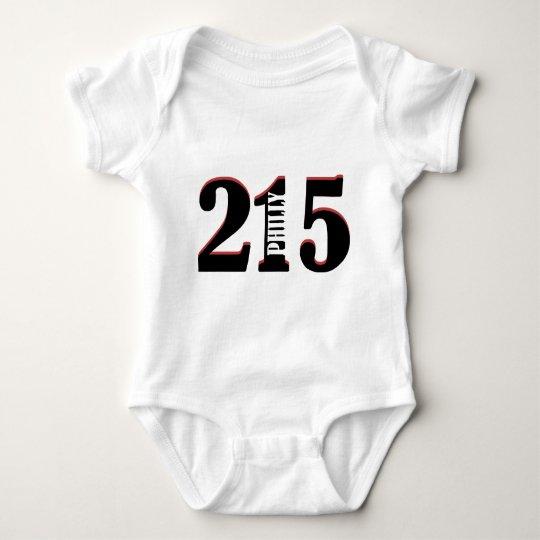 Philly 215 baby bodysuit