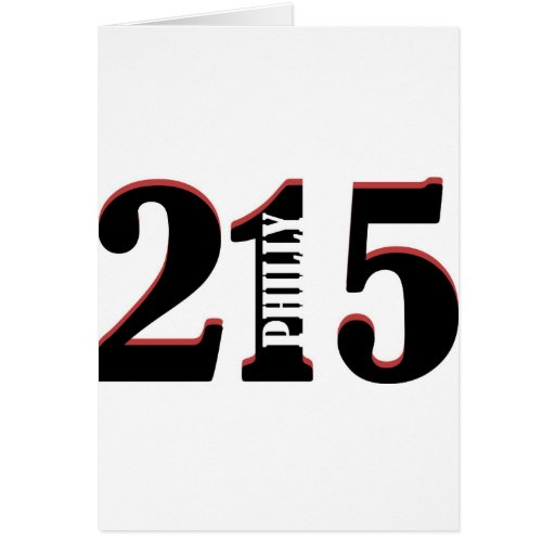 Philly 215 card