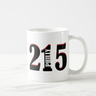 Philly 215 coffee mug