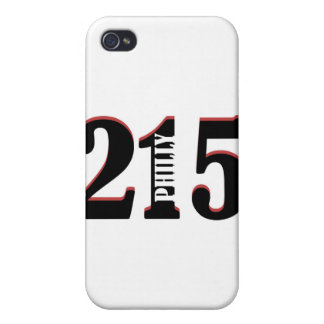 Philly 215 iPhone 4/4S funda