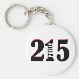 Philly 215 keychain