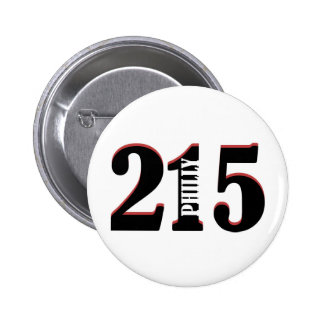 Philly 215 pin