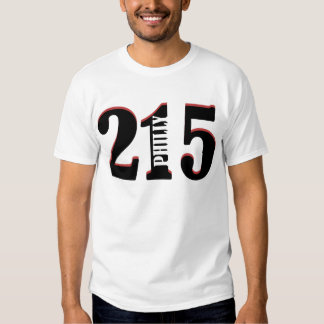 Philly 215 t shirt