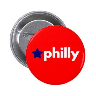 Philly 2 Inch Round Button